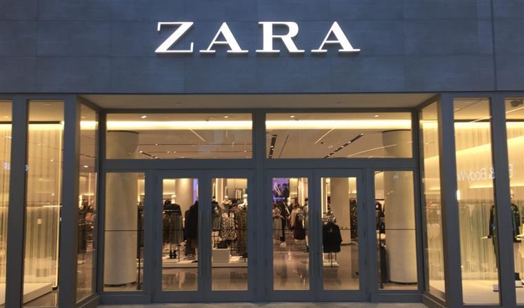 Zara online no Brasil