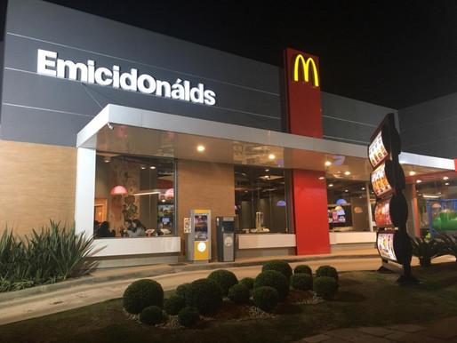 Campanha de marketing  McDonald's em Porto Alegre