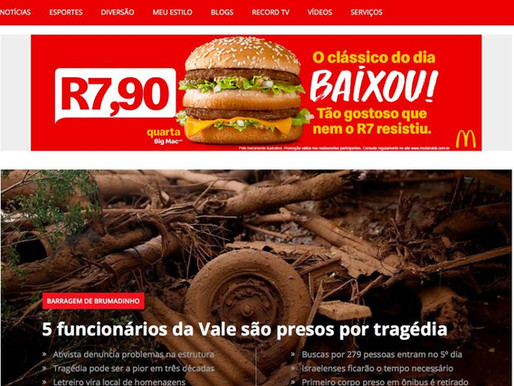Portal R7 muda de nome por causa do McDonald's