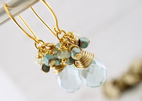 Aqua Serenity Earrings