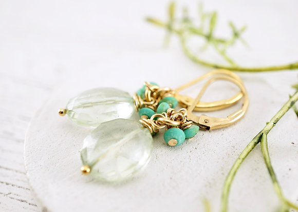 Aqua Scent Earrings