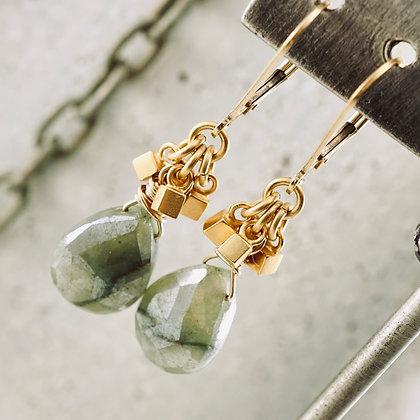 Green Delight earrings