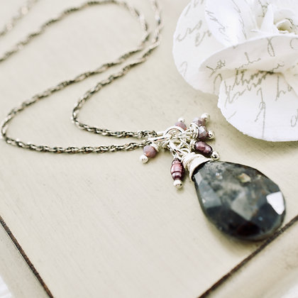 Iolite Reflections Necklace