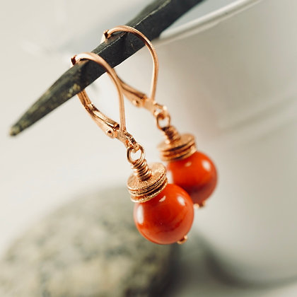 Coral Dreams Earrings (short)