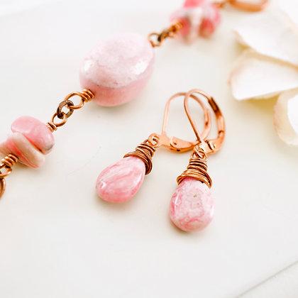 La Vie En Rose Earrings