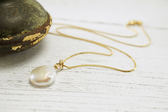 Pearl Solitaire Pendant