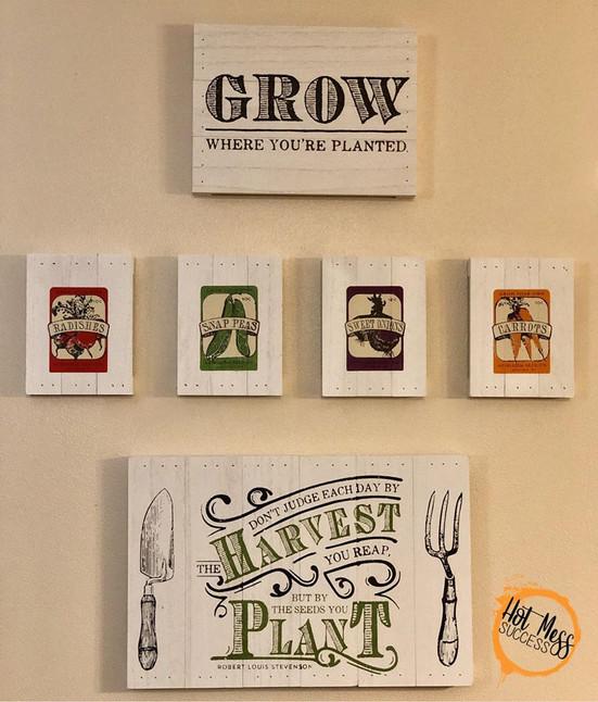 DIY Vintage Seed Packets