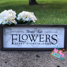 DIY Flower Market Box Frame