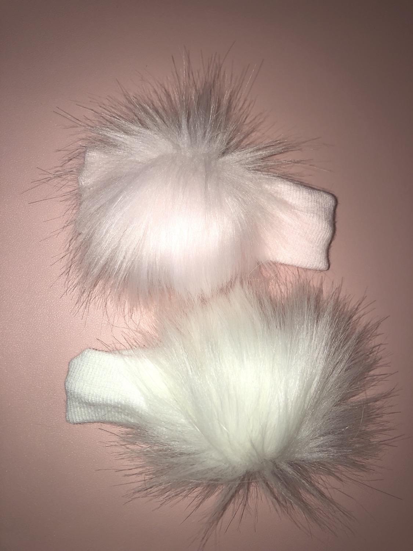 Pom-Pom ear warmers PINK