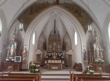 Attend Mass In-Person at St. Peter's!