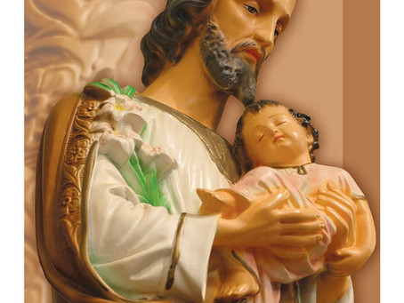 Homily - March 19th, 2019 - Solemnity of St. Joseph, Spouse of the Blessed Virgin Mary