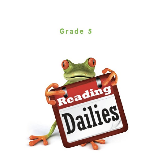 Reading Dailies Grade 5 Student Edition and Teacher's Edition