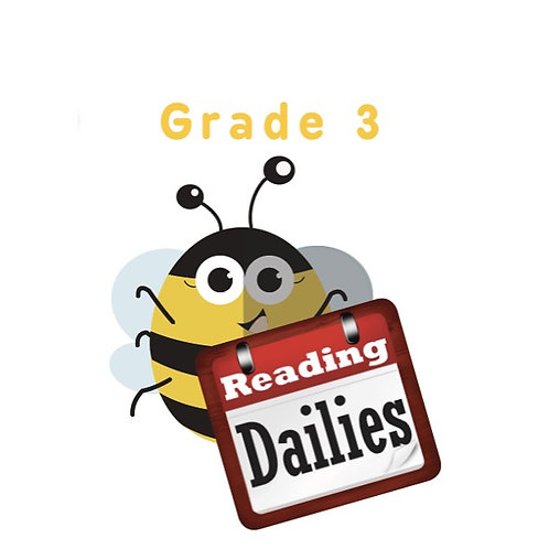 Reading Dailies Grade 3 Student Edition and Teacher's Edition