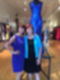 President Janet visits NH State President Tina Smith at Tina's Bravo Boutique in Concord, NH