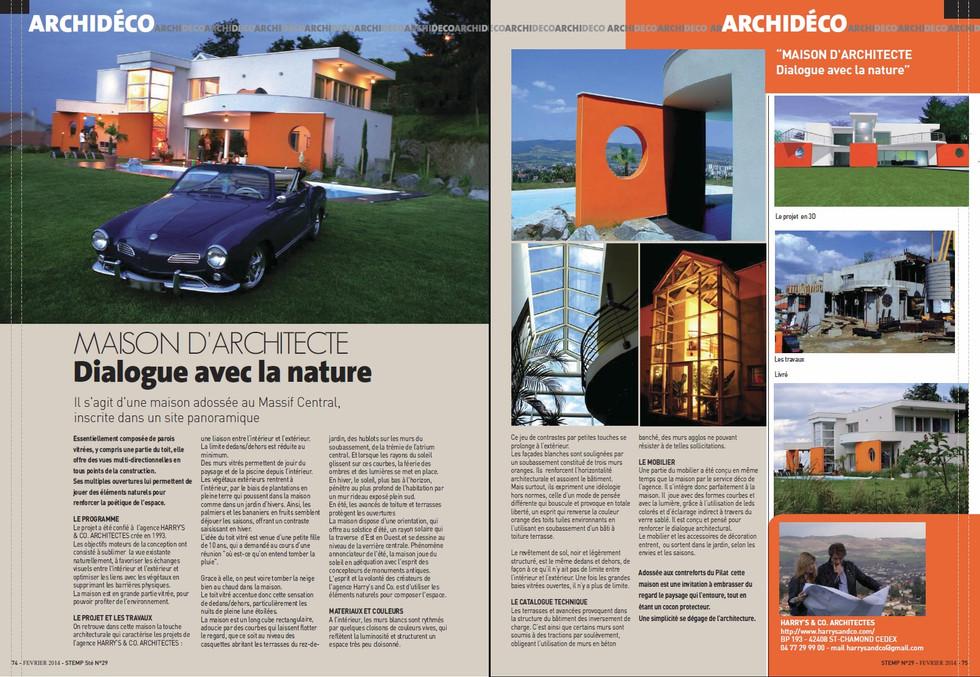 article Harry's & Co architecte sur STEM