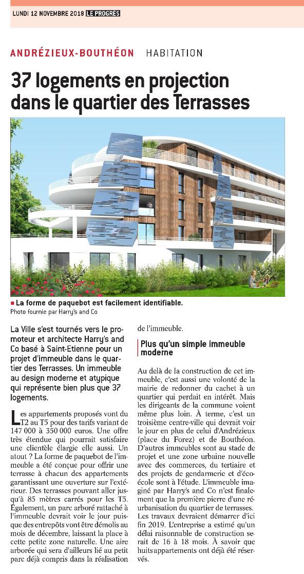 Harry's & Co, article Le Progrès