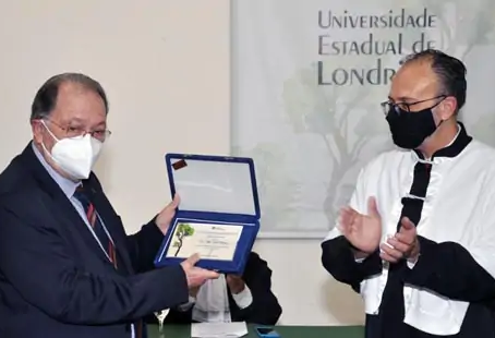 Título de Professor Emérito Prof. João Carlos Thomson