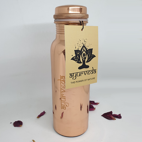 Ayurveda Copper Water Bottle 750ml