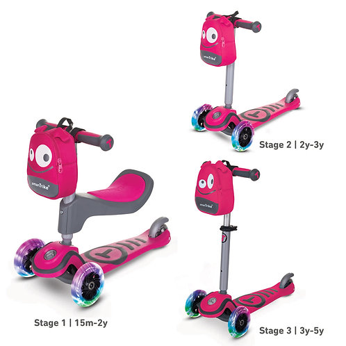 T1 Scooter Pink