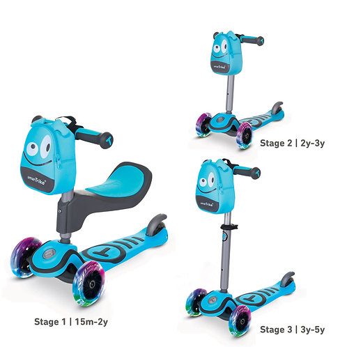 T1 Scooter Blue