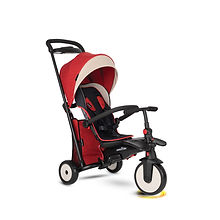 Folding Trike_STR5-Melange_Red_New grid_