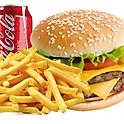 1/2 Pounder burger Meal