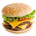 1/2 pounder  Burger