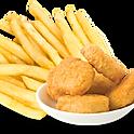 4 X Chicken Nuggets,Chips & Drink