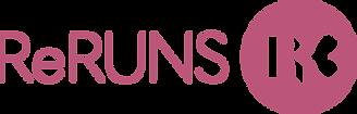 ReRuns_Logo_ReRUNS_LogoHori_CMYK_Fuchsia