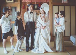 実家・新居で行う【fil-r-m wedding】