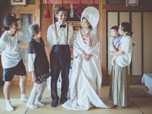 【fil-r-m weddingストーリー紹介③】ご実家で花嫁姿に