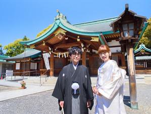 神社神前式で続く 縁 - 川原神社 -