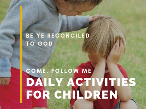 Be Ye Reconciled to God
