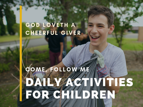 God Loveth a Cheerful Giver