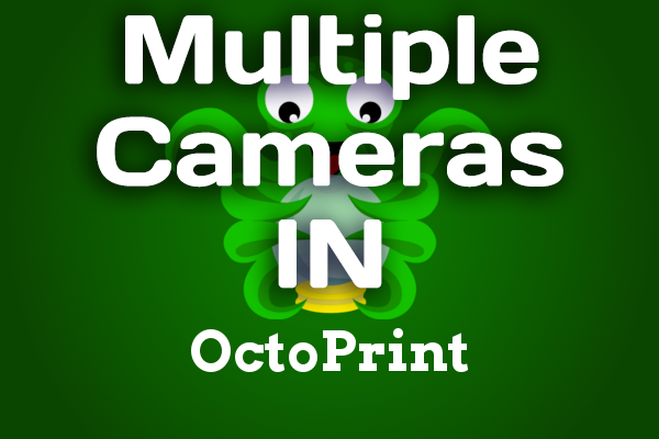 Outside The Box : Multiple Webcam Setup with OctoPrint