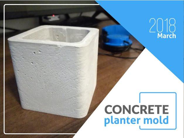 Concrete Planter Mold