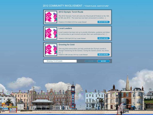 Weymouth and Portland Partnership Website