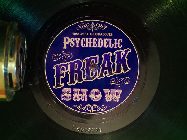 Psychedelic Freak Show Album Cover