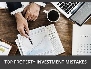 Top Property Investment Mistakes