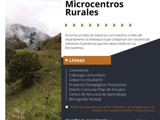 I Encuentro departamental de experiencias educativas de Microcentros Rurales