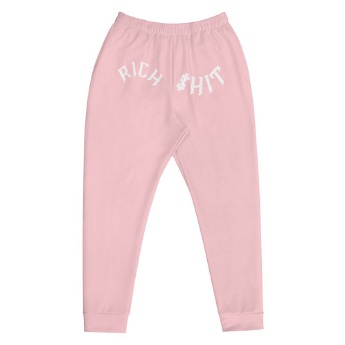 Rich $hit Pink Joggers