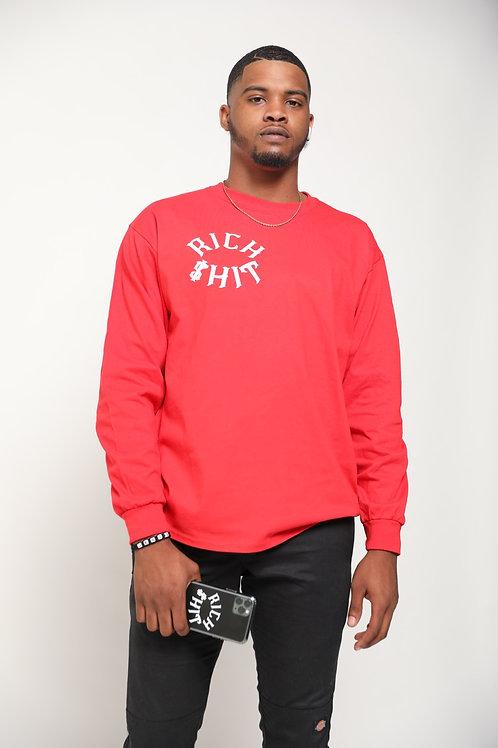 Rich $hit Men's Long Sleeve Shirt