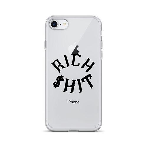 Rich $hit iPhone Case