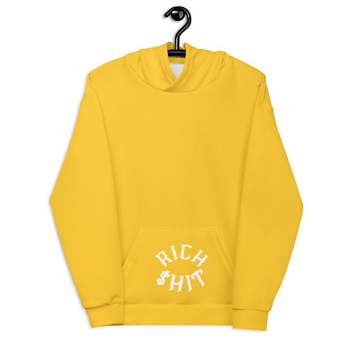 Rich $hit Yellow Hoodie