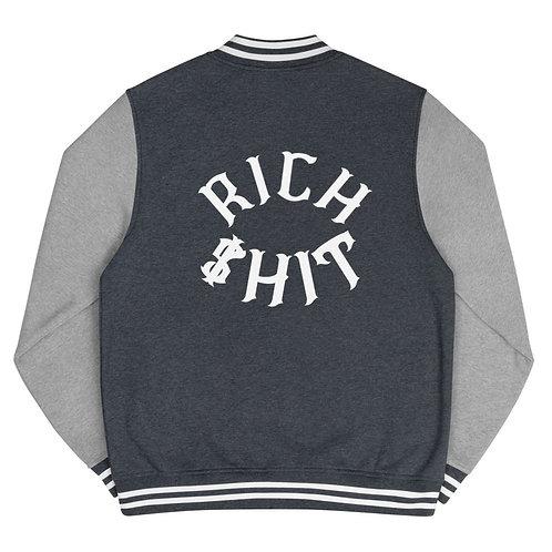 Rich $hit Men's Letterman Jacket
