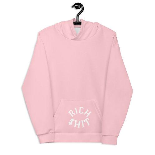 Rich $hit Pink Hoodie