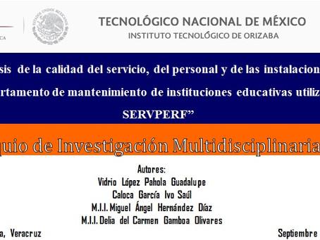 (113) Análisis de la calidad del servicio, del personal y de las instalaciones en el departamento...