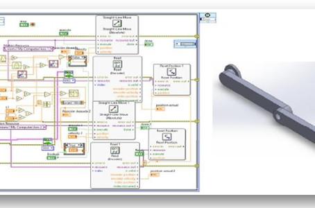 (305) Control de posición de péndulo doble mediante control difuso en interfaz en CAD