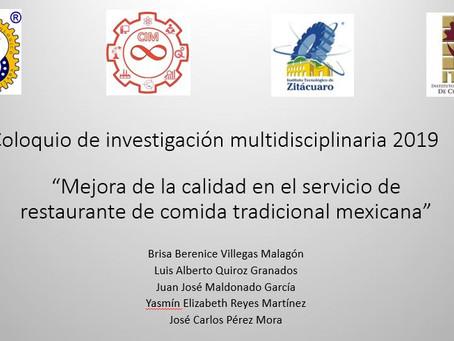 229 Mejora de la calidad en el servicio de restaurante de comida tradicional mexicana.