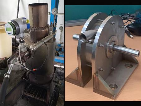 (297) Análisis experimental del sistema generador de vapor para una turbina no convencional